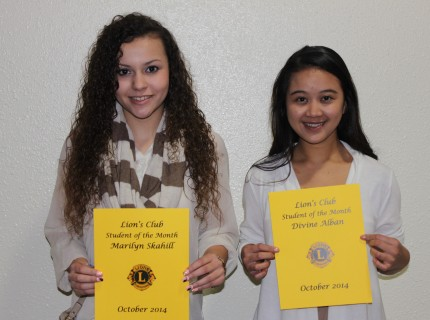 RRTC Oct. Students of the Month