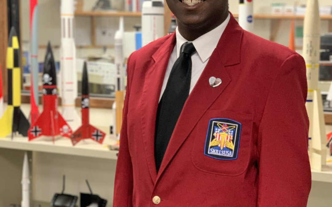 Terrell Cox Elected State SkillsUSA President